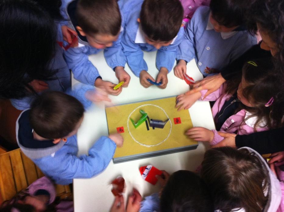 Sumo x Origami = bimbi che si divertono!